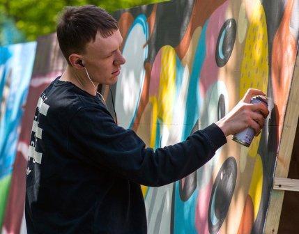 Художники из ЮВАО могут принять участие в конкурсе граффити/mos.ru
